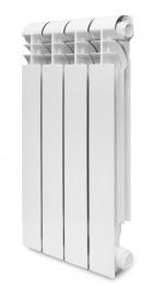 Радиатор алюминиевый KONNER LUX 80/350 литой, 10 секций 6024569 (80x350x10)