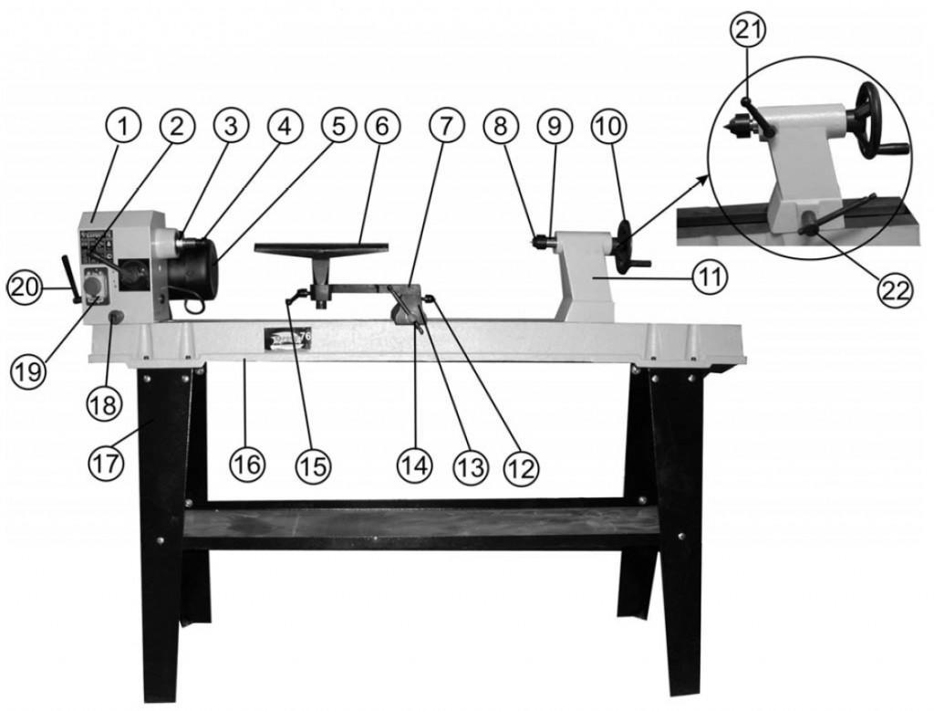 Схема устройства Корвет 76