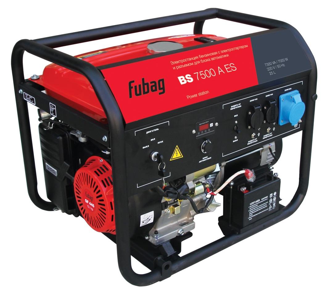 Генератор бензиновый BS 7500 A ES 568254