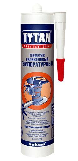 Герметик силикон высокотемп красный 310мл