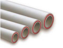Труба PPRC ф 90 PN20 армир.стеклов. белая