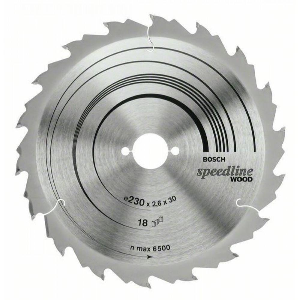 Диск пильный ф160х20/16 z18 Optiline Wood Eco BOSCH 2 608 641 785