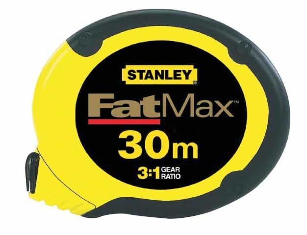 Рулетка 30м STANLEY FATMAX 0-34-134