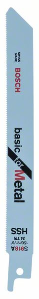 Пилки для ножовки для металла S 918 A 5шт. BOSCH 2 608 651 780