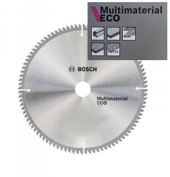 Диск пильный BOSCH ф254х30 z96 Multimaterial Eco 2 608 644 395