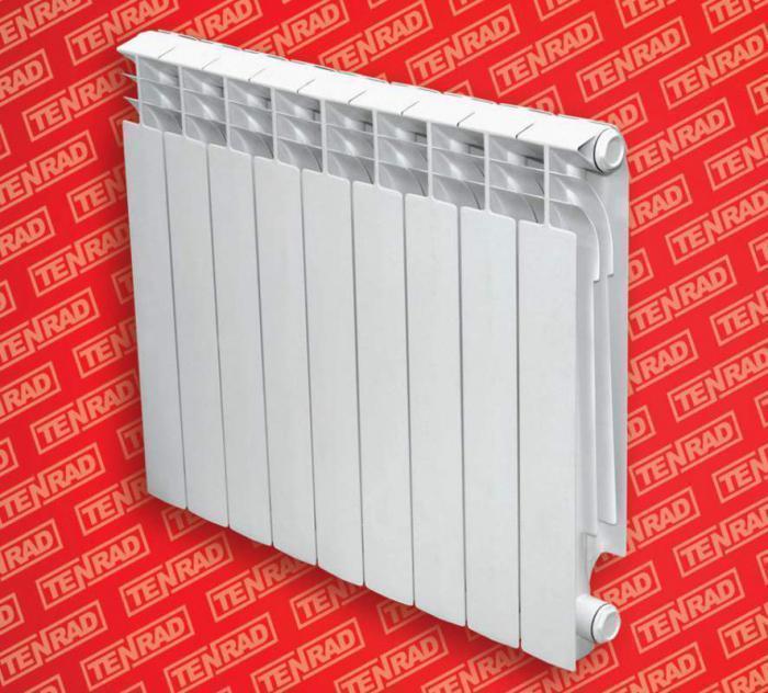 Радиатор биметаллический TENRAD BM500/80 6 секций