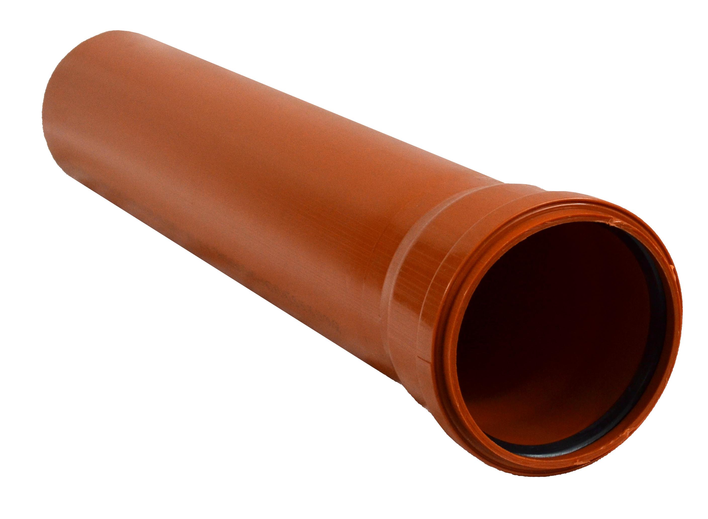 Труба НПВХ ф160/4мм L 2000мм SINIKON