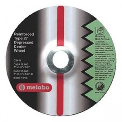 Круг шлифовальный ф180х6,0х22 для нержавейки Flexiamant Super /10 Metabo 616610000