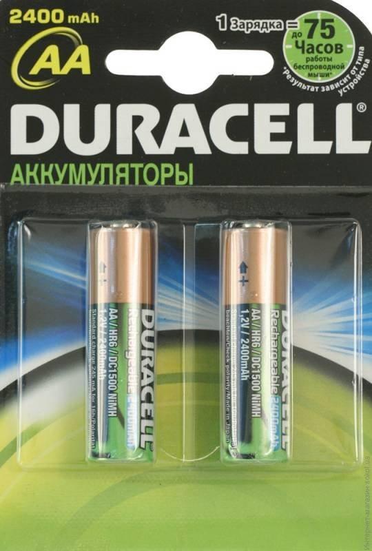 Аккумулятор Duracell HR06 AA 2шт