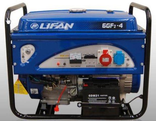 ��������� ���������� Lifan 6.0GF2-4
