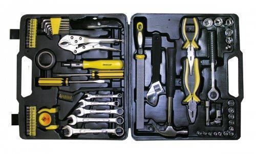 Набор инструмента 67 предметов в кейсе ЭНКОР 57053