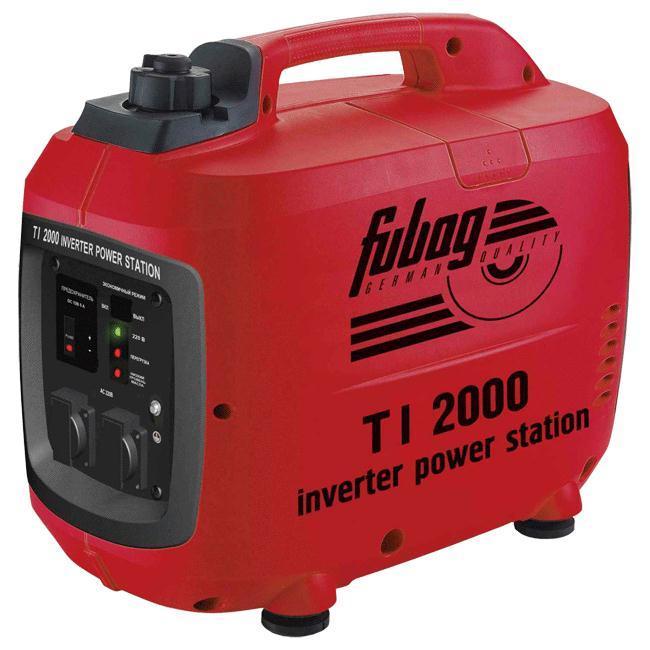 Генератор бензиновый инверторный Fubag TI 2000