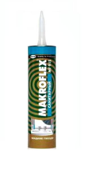 Клей Монтаж MF915 санитарный 400г Макрофлекс Henkel 612888