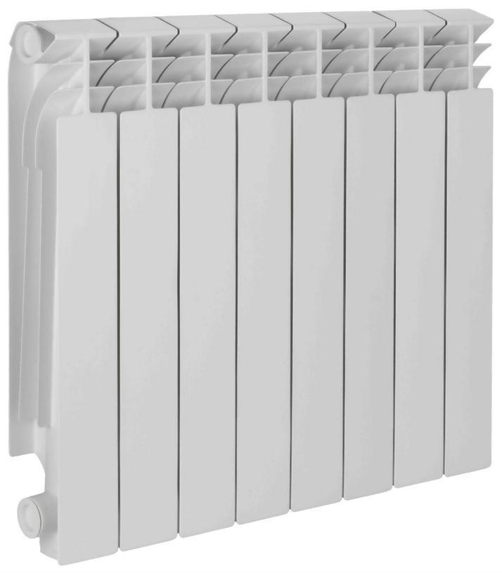 Радиатор биметаллический TENRADBM 500/80 8 секций