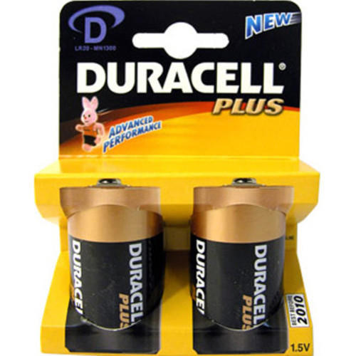 Батарейка D MN1300 K2 2шт Duracell 81381918