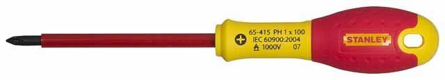 Отвертка диэлектрическая STANLEY 0-65-415