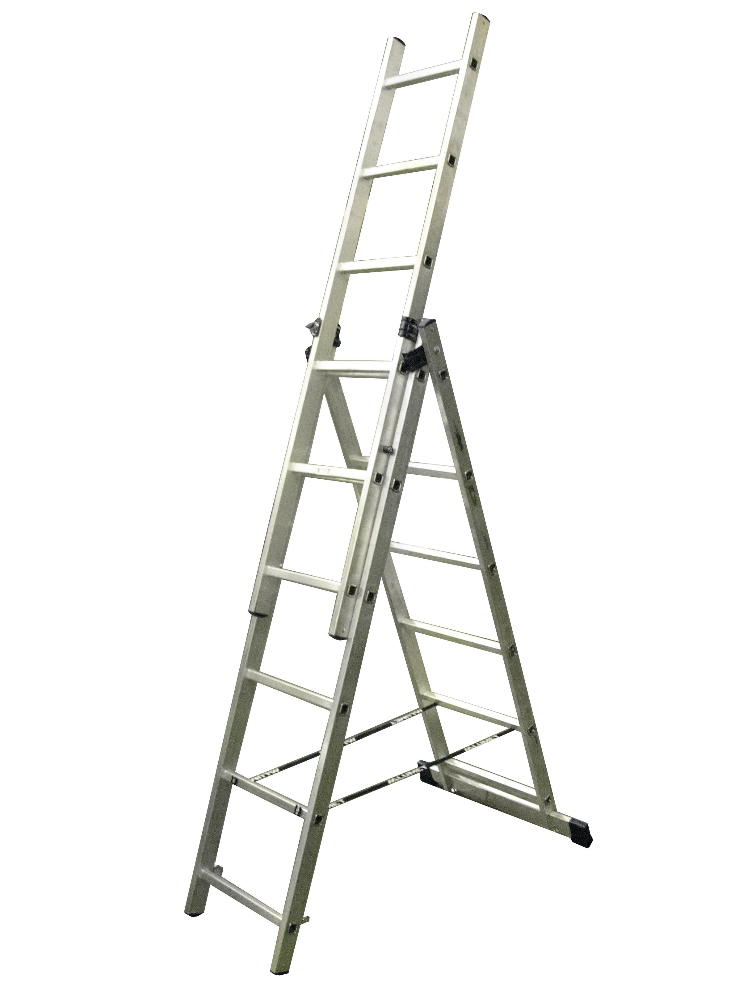 "Лестница трехсекционная 3х16 ступеней ""Энкор"""