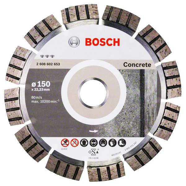 Круг алмазный 150х22 бетон Bf Concrete
