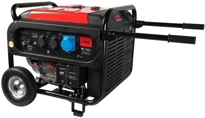 Генератор бензиновый инвентарный Fubag TI 7000 A ES 838235
