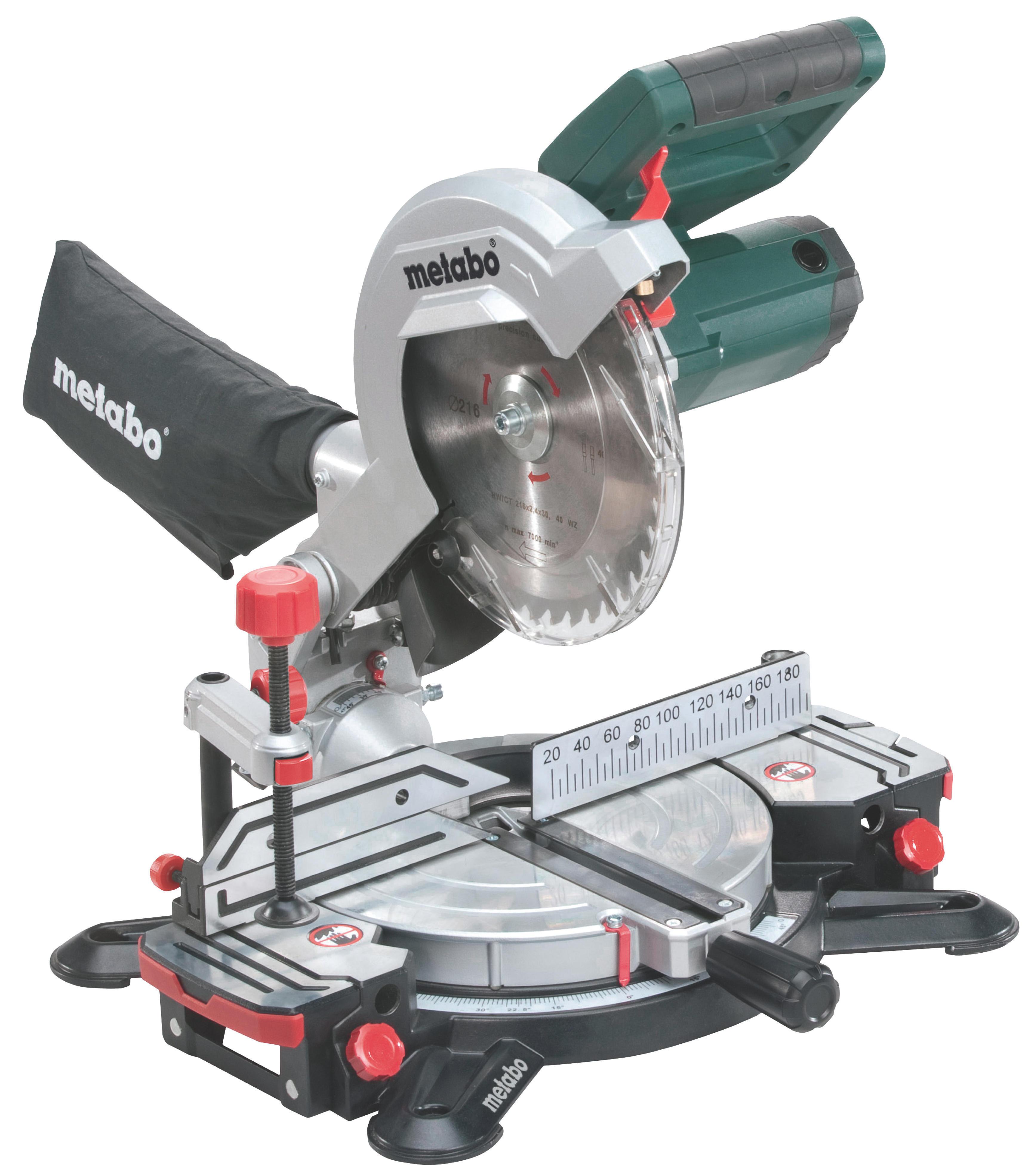 Пила торцовочная Metabo KS216M Lasercut