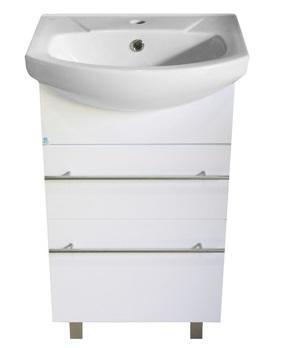 """Шкаф-подстолье SMARTsant """"Бианка"""" для умыв. 50см, белый (MS030111W)"""