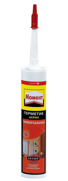Герметик акриловый универсальный белый 280мл Henkel 615555