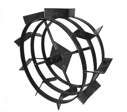 Грунтозацепы для культиватора из автомобильных дисков