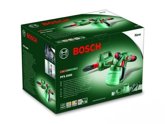 Краскораспылитель BOSCH PFS 2000 (0 603 207 300)
