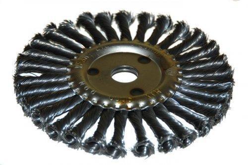 Щетка для УШМ ф22,2/150мм дисковая сталь витая