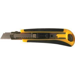Нож со сменным лезвием 18мм пластиковый корпус