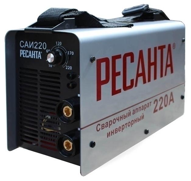 Сварочный аппарат Ресанта САИ 220 + Щиток