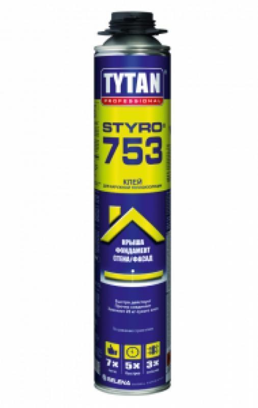 Клей для наружной теплоизаляции Styro 753 TYTAN 77961