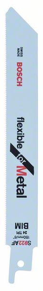Пилки для ножовки для металла S 922 АF 5шт. BOSCH 2 608 656 013