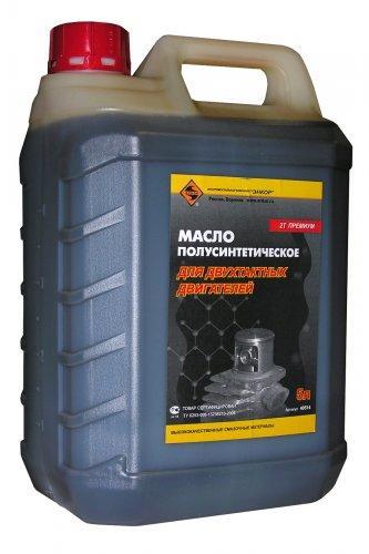 Масло для 2-х тактного двигателя полусинтетическое 5л/3 ЭНКОР НАНОТЕК 2Т Премиум