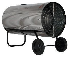 Нагреватель газовый Профтепло КГ-57 нержавейка