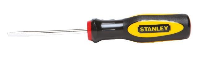Отвертка шлицевая 5,0х75мм Basic STANLEY 1-60-003