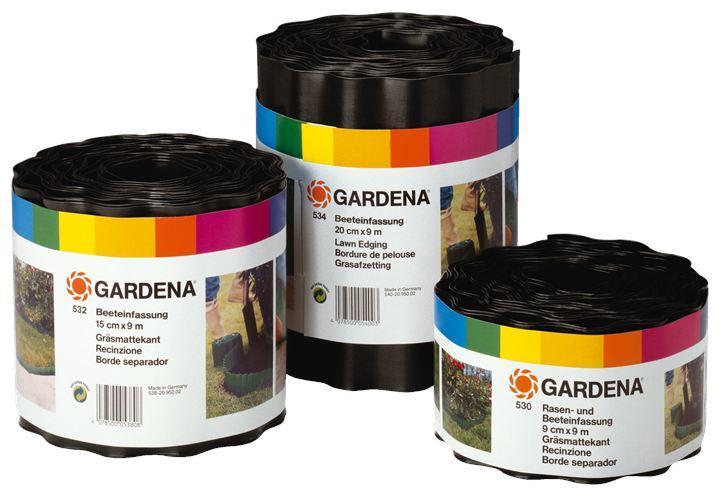 Бордюр для газона 0.09х9м коричневый Gardena 00530-20.000.00