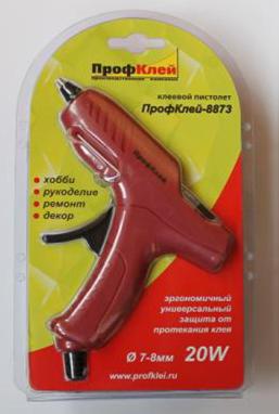 Пистолет клеевой Leader 7 мм ПрофКлей-8873 (8873)