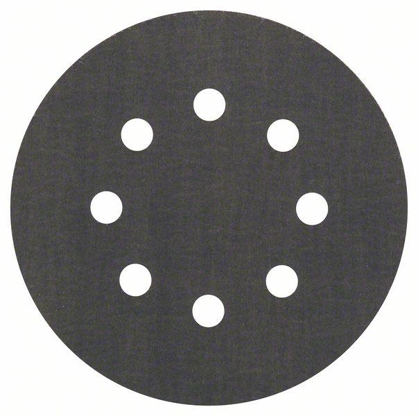 Шлифкруг ф125 на липкой основе 8 отверстий для камня k 600 ( 5шт) BOSCH 2 608 605 122