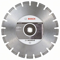 Алмазный диск Standard for Asphalt 350х25.4 мм по асфальту Stf Asphalt BOSCH 2 608 603 831