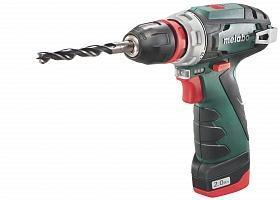 Дрель-шуруповерт Metabo PowerMaxx BS Quick Basic 2.0Ah x2 Case (600156500)