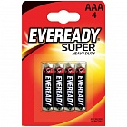 Батарейка ААА SUPER HEAVY DUTY 4шт Energizer 639608
