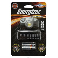 Фонарь Energizer ENR LED Headllight  2AAA, наголовный E300370900