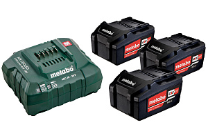 Аккумулятор Metabo 18 В Basic-Set 4.0 3x4,0Ah + ASC 30-36 685049000