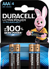 Батарейка Duracell AAA LR03-4BL Ultra Power 4шт Б0038762