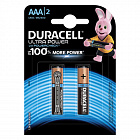 Батарейка Duracell AAA LR03-2BL Ultra Power 2шт алкалиновая Б0038762