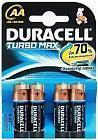 Батарейка AA Turbo MX1500 K4 4шт Duracell 81367987