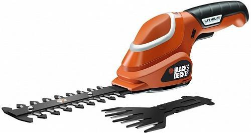 Ножницы-кусторез аккумуляторные Black&Decker GSL700-QW
